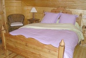 Naillat chalet rental - Bedroom 2