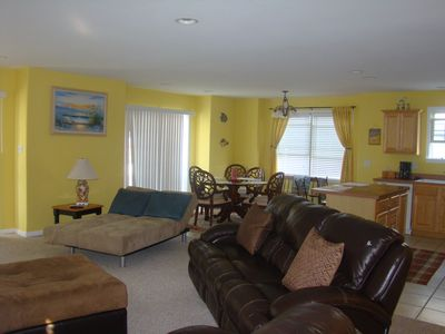 Freshly painted interior ~ this great condo is 1800 square feet!