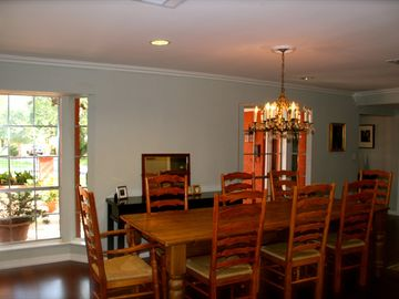 Dining Room - Table seats 8.