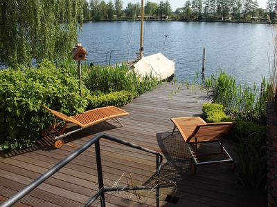 On water & in listed former industrial plant enjoy holiday