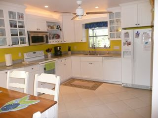 Sanibel Island house photo - Cottage style kitchen w/granite counters and fully equipped with every need