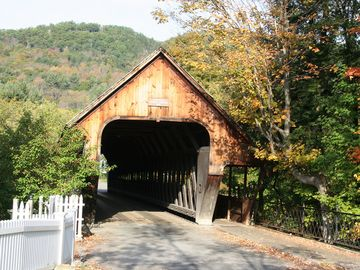 WOODSTOCK'S COVERED BRIDGE