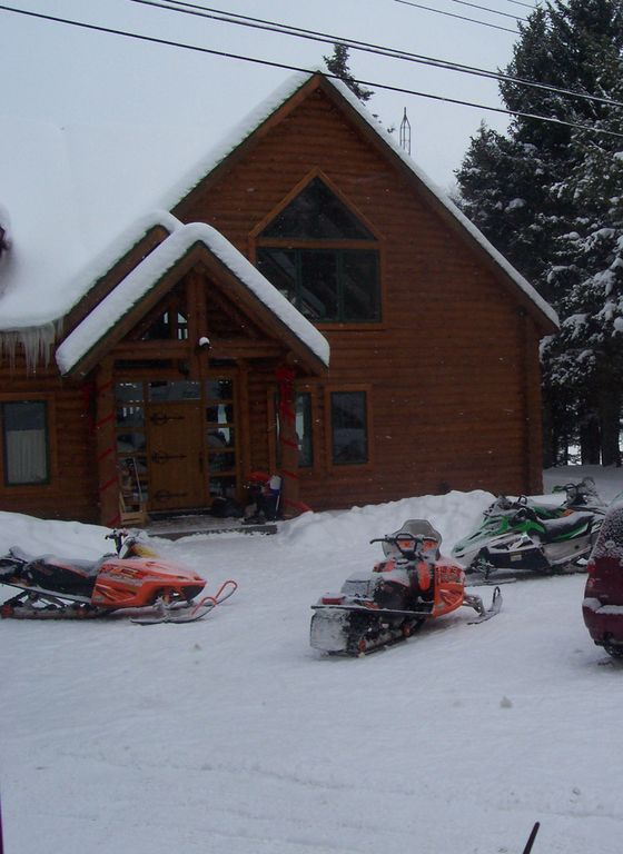 Winter is for skiers and snowmobilers