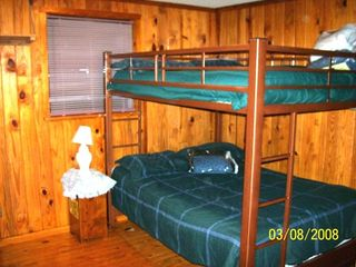 Steinhatchee cabin photo - Bedroom #2 - Double Double Bunk