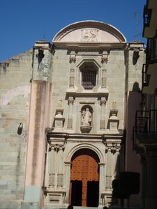 One of the many churches at Oaxaca