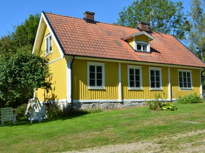 Vacation home for 1-2 families, 150 m2 in beautiful surroundings with a little extra.