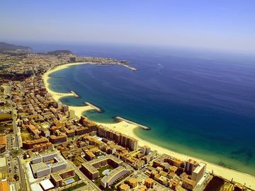 Ariel photo of Sant Antoni de Calonge to Palamos