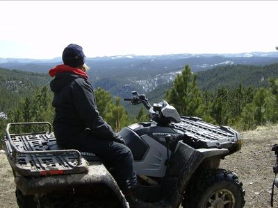 Majestic View on ATV Trail