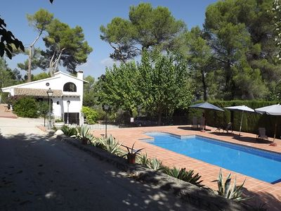 Beautiful Rustic Villa near Xativa Valencia with Private Pool (Sleeps 6, a/c)