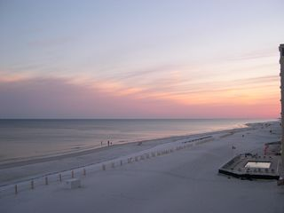 Gulf Shores condo photo - Sunset from the balcony