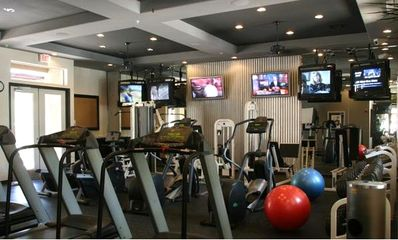 Private Fitness Center Located in Clubhouse OPEN 24 HRS
