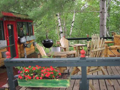 Pine River cabin rental