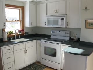 Lubec house photo - Partial View of Kitchen