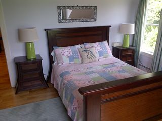 West Dover house photo - Queen bed on 2nd floor with beautiful mountain views.