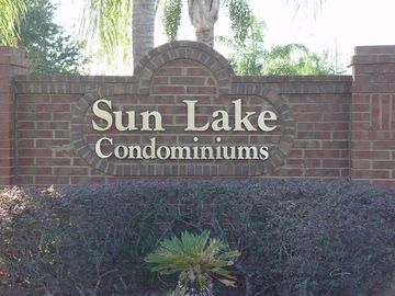 Sun Lake condo rental - Front Entrance