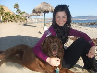 Las Gaviotas house photo - Fun at the beach! Note: pets are only allowed for owners or long term renters.
