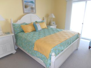Belmont Towers Ocean City condo photo - Master bedroom with king bed