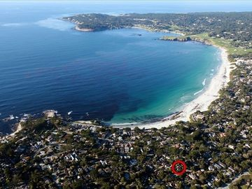 Carmel cottage rental - Great location, 3 blks to Carmel Beach, 4 blks to Carmel River, 3/4 mile village
