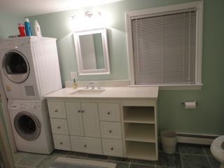 Moody Beach house photo - stackable washer/dryer