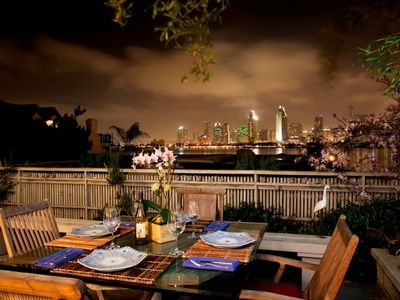 Coronado house rental - Night view