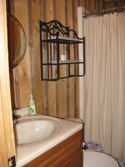 Windham chalet photo - Downstairs bath with full shower