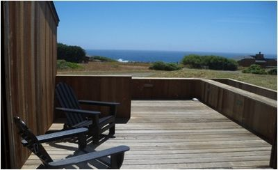 Sit on the front deck and watch the whales migrating or the deer grazing
