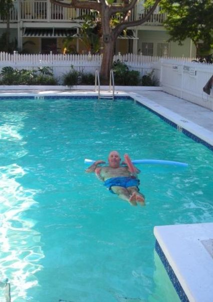 Key West condo rental - You are a few steps from the Truman Annex pool.