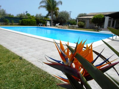 Lovely property with beautiful swimming pool surrounded by a private garden....