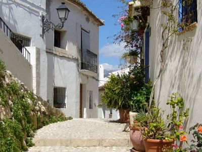 Altea Old Town streets
