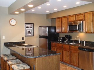 Park Place Breckenridge condo photo - Stainless Steel Appliances & Granite Countertops