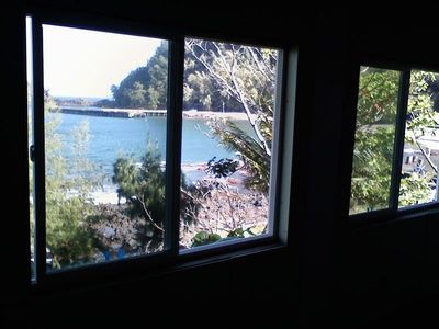 The makai (ocean side) wall has four windows that bring in light and views.