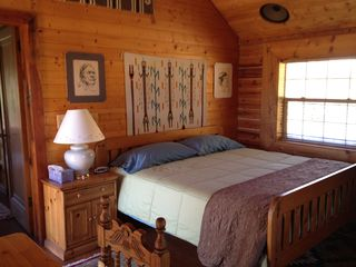 Angel Fire house photo - Master Bedroom with King Bed.