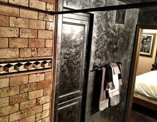 Master Bath with Venetian Plastered Walles - Montage Scottsdale condo vacation rental photo