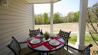 Williamsburg condo photo - Patio with View of Golf Course at the Greensprings Vacation Resort