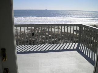 Isle of Palms house photo - Open decks off ocean front bedrooms upstairs for private sunbathing
