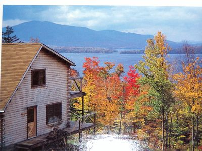 Greenville cabin rental - Fall Foliage at Moosehead Lake