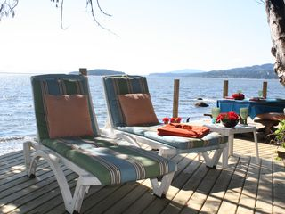 Sechelt cottage photo - Ah! The life!