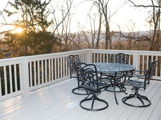 Massanutten house photo - Watch the sunrise over the Blue Ridge Mountains from top deck.