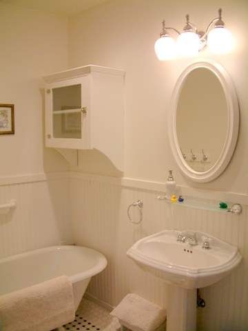 Downstairs Bath - Relax in the Claw Foot tub