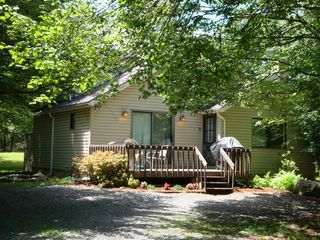 Summer View of Home - Towamensing Trails chalet vacation rental photo