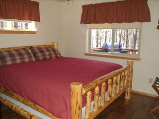 Williams cabin photo - King Bedroom #1, heavenly bed and down comforter