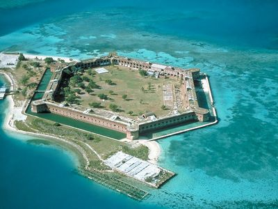 Visit Fort Jefferson in the Dry Tortugas