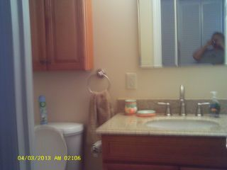 Beach Haven Garden house photo - 2nd full bath on 1st level. convenient to outside deck (1st level)