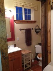 Paso Robles barn photo - Bathroom in Western Guest Cottage
