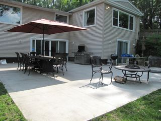 Cassopolis house photo - Huge outdoor entertaining space!