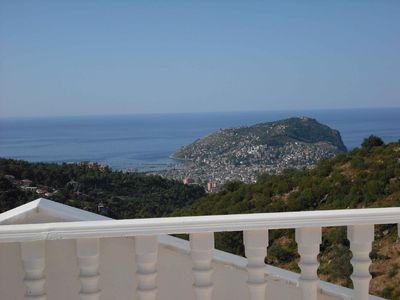 Alanya villa rental - 'Imagine.... this being YOUR view in the morning!'