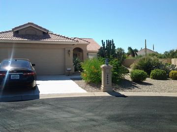Sun Lakes house rental - front of home