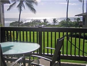 Your own lanai with ocean views!