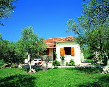 Idyllic gem, surrounded by olive groves, close to the sea.