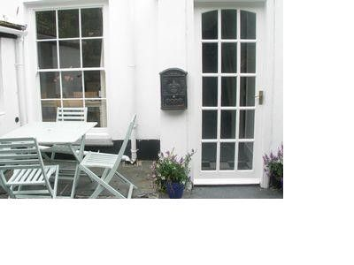 Penzance cottage rental - Lovely sunny courtyard